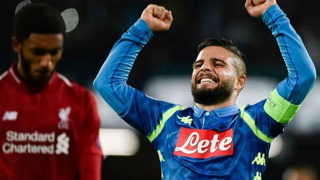 Napoli-Liverpool, Lorenzo Insigne