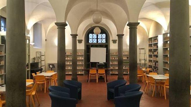 La biblioteca del Liceo Machiavelli