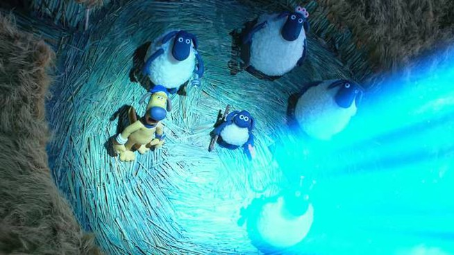 Uno screenshot del trailer – Foto: Aardman Animation