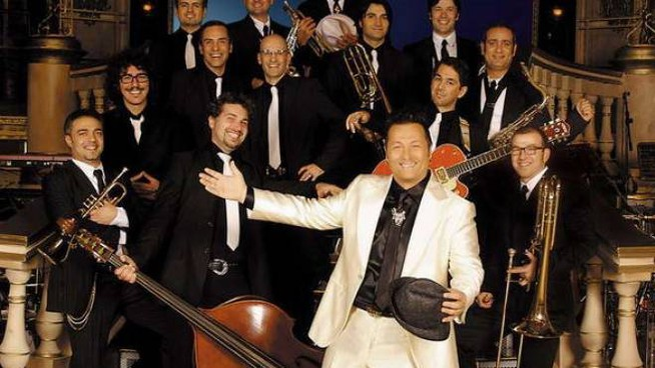 Paolo Belli e la sua band