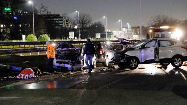 L'incidente sulla Vigevanese (Spf)