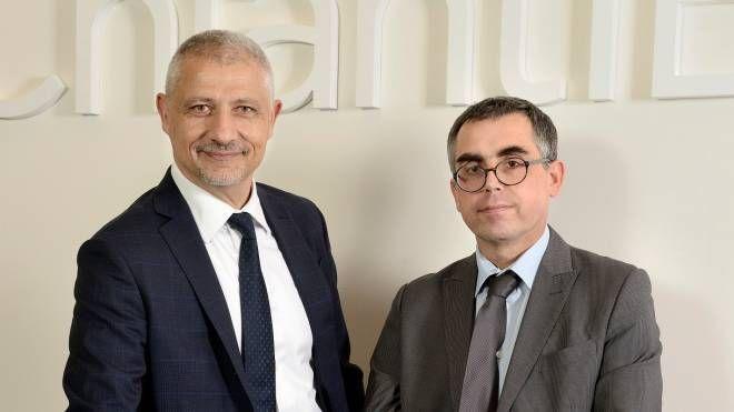 Mauro Focardi Olmi, direttore generale, e Cristiano Iacopozzi, presidente