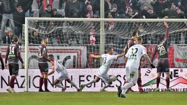 Il gol di Alessio Sabbione