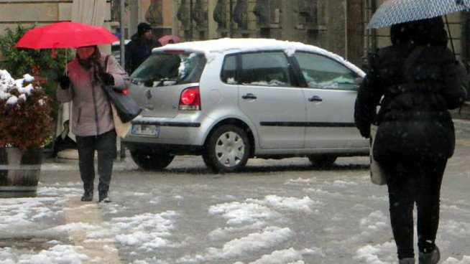 Poltiglia sulle strade di Faenza