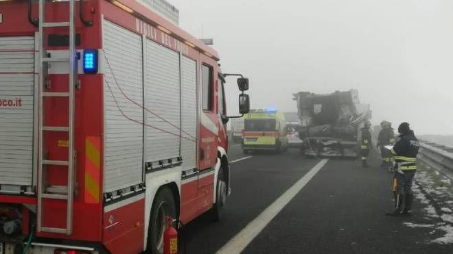 Incidente in A22 (foto di repertorio)