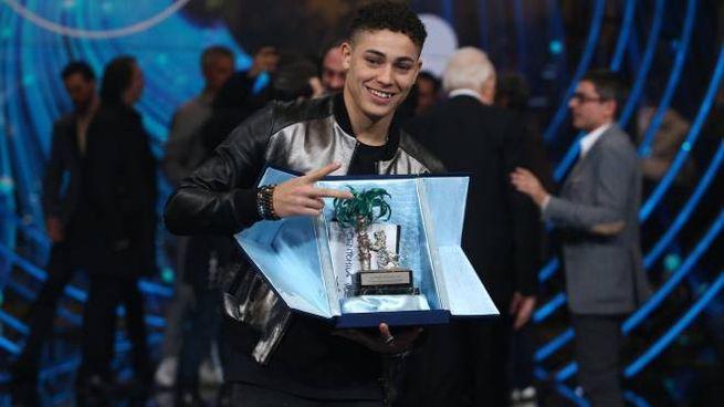 Sanremo Giovani 2018, il primo finalista Einar (LaPresse)