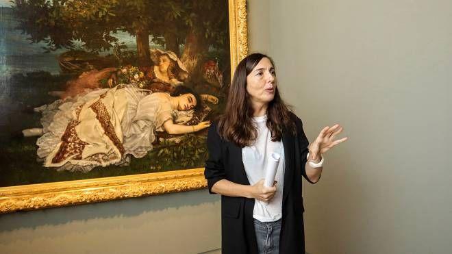 Ferrara: Maria Luisa Pacelli, direttrice di Palazzo dei Diamanti (Foto Luna)