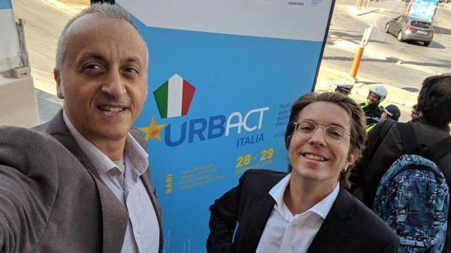 Damiano Avellino (a destra) ed Emanuele Dal Carlo, cofondatori della piattaforma Fairbnb