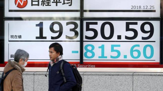 6bd058e026 Borsa di Tokyo a picco: -5,01% dopo il tonfo di Wall Street ...