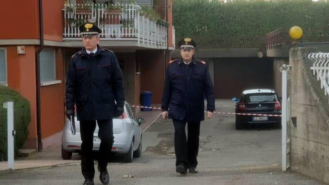 I carabinieri intervenuti sul luogo del delitto