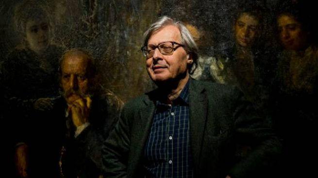 La mostra di Vittorio Sgarbi