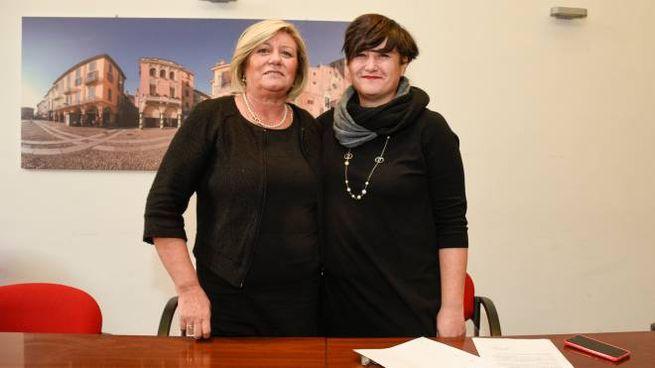 Maria Grazia Sobacchi e Sara Casanova