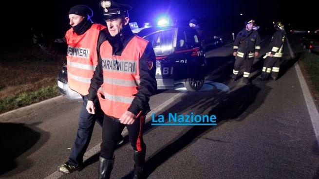 Il luogo dell'incidente (foto Paolo Lazzeroni - riproduzione riservata)