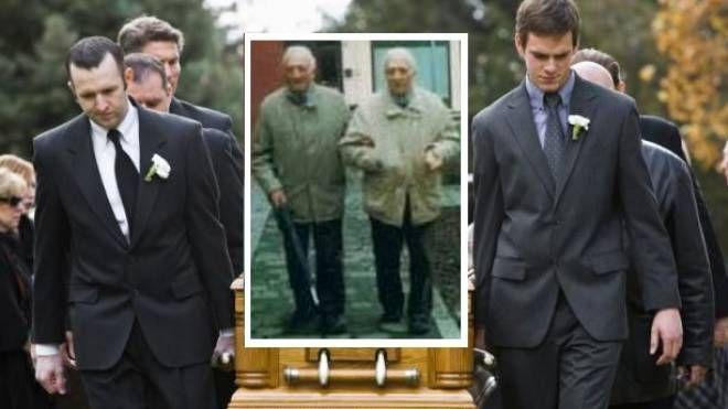 I gemelli Aldo e Vito Bonetti, 80 anni
