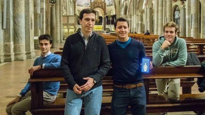 Quattro studenti universitari milanesi che hanno inventato l'applicazione