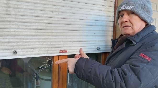 Macerata, Rosolino Michetti ha messo in fuga i ladri urlando