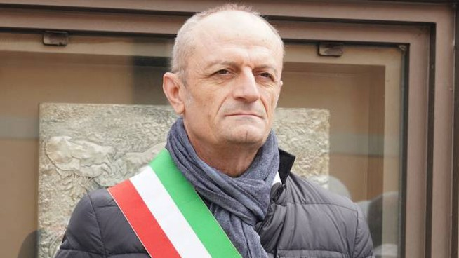 Il primo cittadino di San Fiorano, Mario Ghidelli