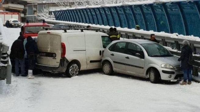 Incidente al ponte del borgo a Fabriano