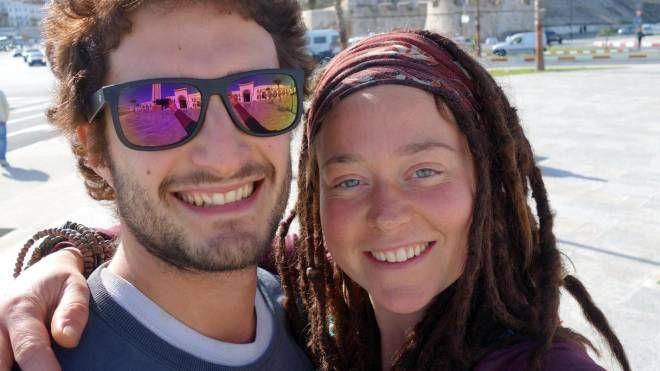 Luca Tacchetto e Edith Blais, scomparsi in Burkina Faso (Ansa/Facebook)