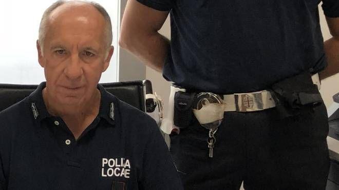 Il comandante della polizia locale di Santo Stefano Flavio Toracca