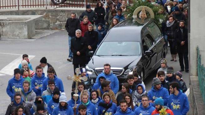 Il funerale di Denis Romedi