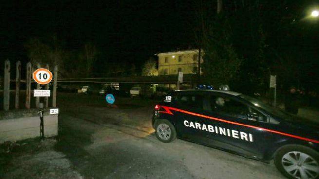 I carabinieri sul luogo della tragedia (Di Pietro)
