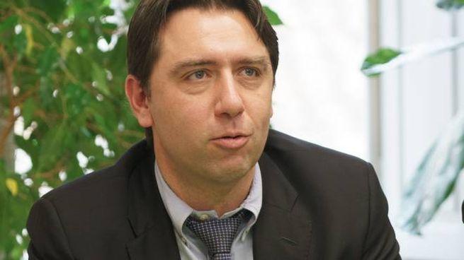 L'assessore all'Ambiente Alessandro Ciarrocchi