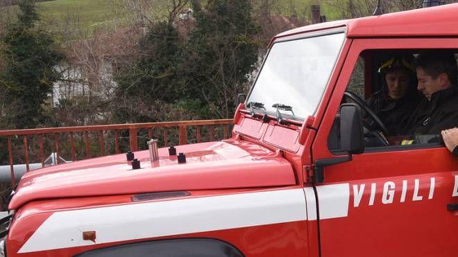 I vigili del fuoco hanno partecipato alle ricerche