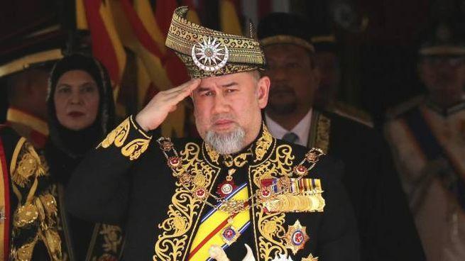 Il sultano della Malesia Muhammad V (Ansa)