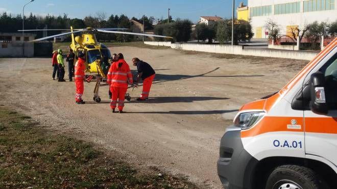 L'incidente della bimba a Falerone