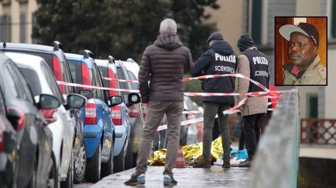 L'omicidio del ponte Vespucci. Nel riquadro, la vittima