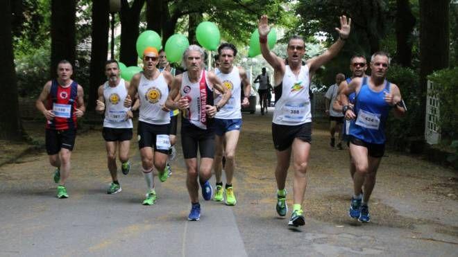 La corsa a Montecatini (foto Regalami un sorriso onlus)