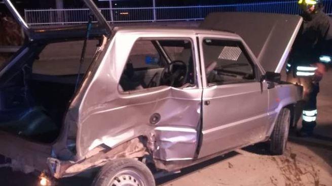 Incidente stradale in località Casotto dei Pescatori (Grosseto). Foto: vigili del fuoco