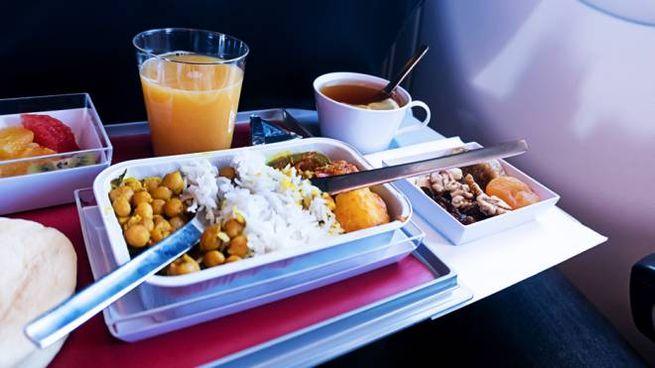 I pasti in volo, dall'economy alla business class