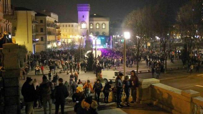 La festa in piazza