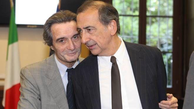 ll governatore  lombardo Attilio Fontana e il sindaco  Giuseppe Sala