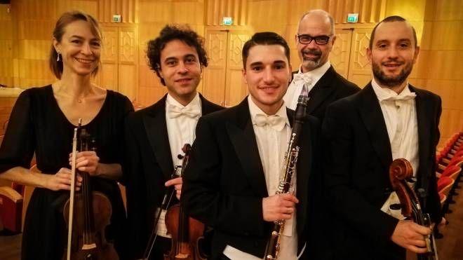 MUSICA Il quartetto d'archi e clarinetto che inaugura il ciclo