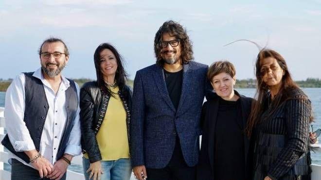 Borghese con i quattro ristoratori in gara