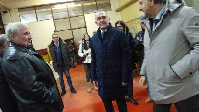 Enrico Rossi con Vincenzo Ceccarelli