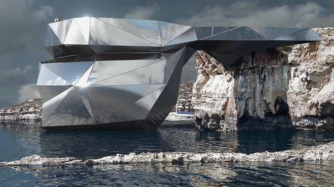 Il progetto per il nuovo arco - Foto: Svetozar Andreev, 2018. All rights reserved