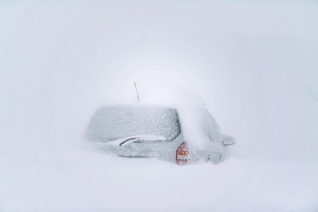 Neve record, impressionanti foto da Austria e Germania