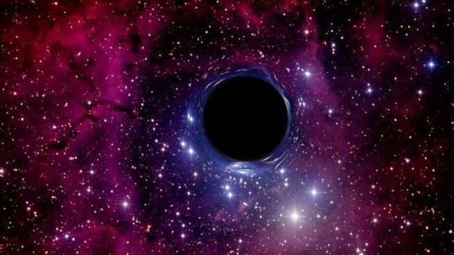 Ricostruzione in 3D di un buco nero