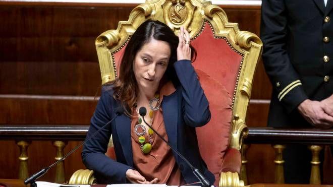 La vicepresidente del Senato Paola Taverna (ImagoE)