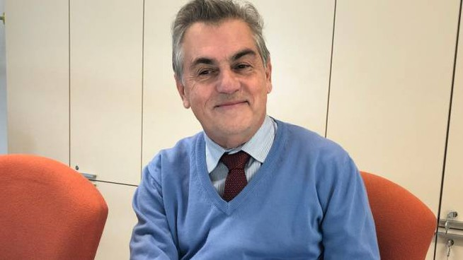 Il professor Giuseppe Giaccone