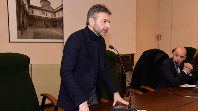 L'intervento dell'assessore regionale ed ex presidente della Provincia Pietro Foroni