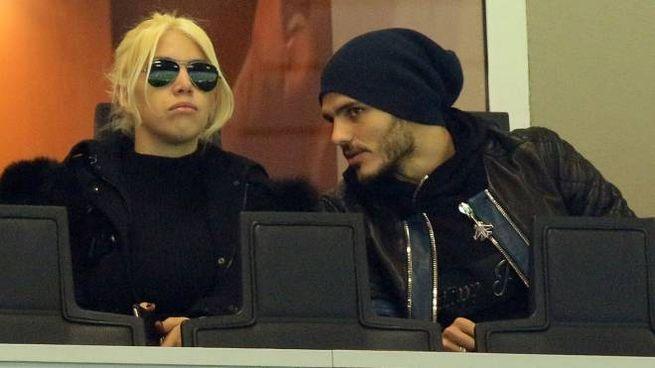 Mauro Icardi e Wanda Nara (Newpresse)