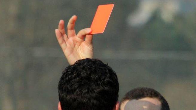 Cartellino rosso (foto di repertorio)
