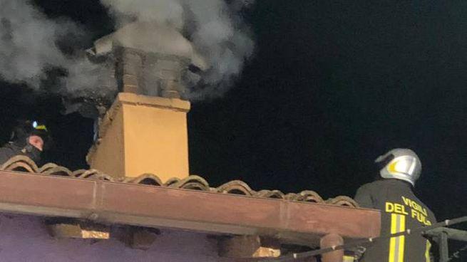Incendio alla canna fumaria