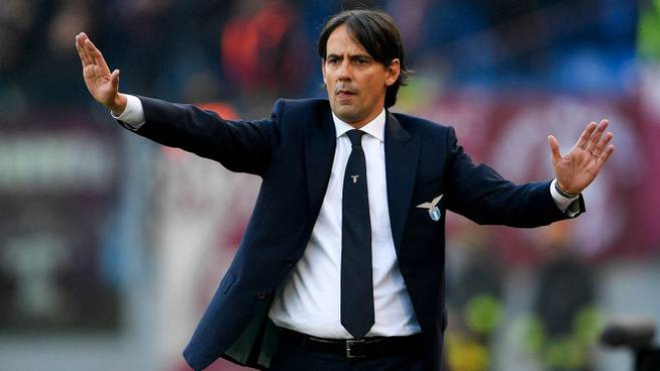L'allenatore della Lazio Simone Inzaghi (LaPresse)