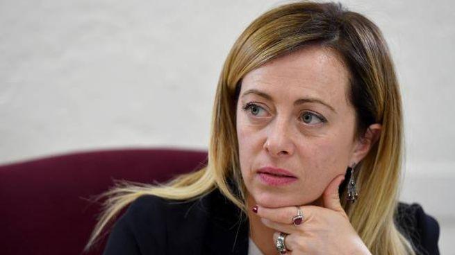 La leader di Fratelli d'Italia, Giorgia Meloni (Ansa)